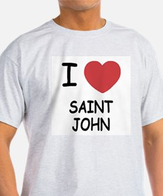 I heart saint john T-Shirt