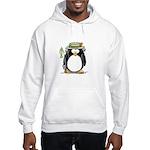 Fishing penguin Hooded Sweatshirt