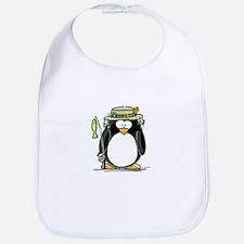 Fishing penguin Bib