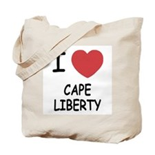 I heart cape liberty Tote Bag