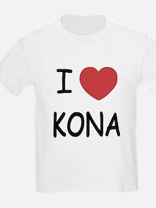 I heart kona T-Shirt