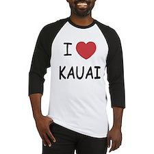 I heart kauai Baseball Jersey