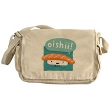"""Oishii!"" Sushi Messenger Bag"