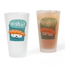 """Oishii!"" Sushi Drinking Glass"