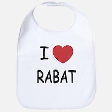 I heart rabat Bib