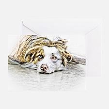 AUSTRALIAN SHEPHERD - DOG Greeting Card