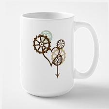 Steampunk Love Mug