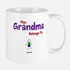 This Grandma Belongs 1 One Mug
