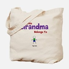 This Grandma Belongs 1 One Tote Bag