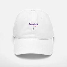 This Grandma Belongs 1 One Baseball Baseball Cap