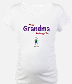 This Grandma Belongs 1 One Shirt