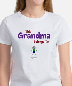 This Grandma Belongs 1 One Tee