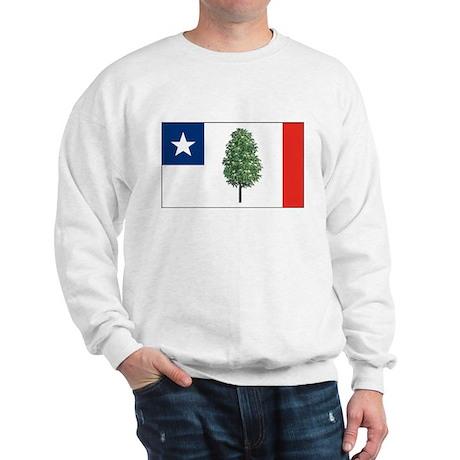 Mississippi Magnolia Flag Sweatshirt