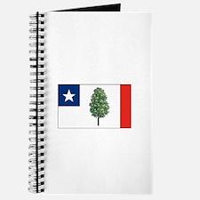 Mississippi Magnolia Flag Notebook