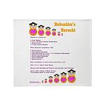 Babushka's Borscht Recipe Throw Blanket
