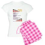 Babushka's Borscht Recipe Women's Light Pajamas