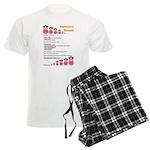 Babushka's Borscht Recipe Men's Light Pajamas