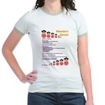 Babushka's Borscht Recipe Jr. Ringer T-Shirt