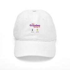 This Grandma Belongs 2 Two Cap