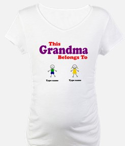 This Grandma Belongs 2 Two Shirt