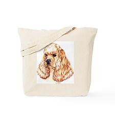 American Cocker Spaniel Head Tote Bag