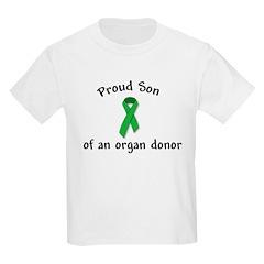 Kids T-Shirt Proud Son