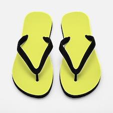 Light Yellow Flip Flops
