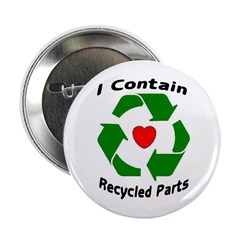 Button I contain recycled parts