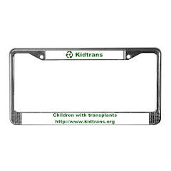 License Plate Frame Kidtrans