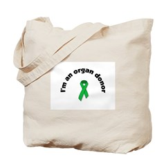 Tote Bag I'm a donor