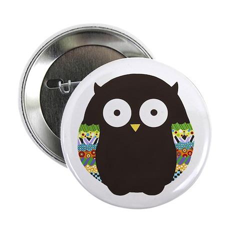 """Owl 2.25"""" Button"""