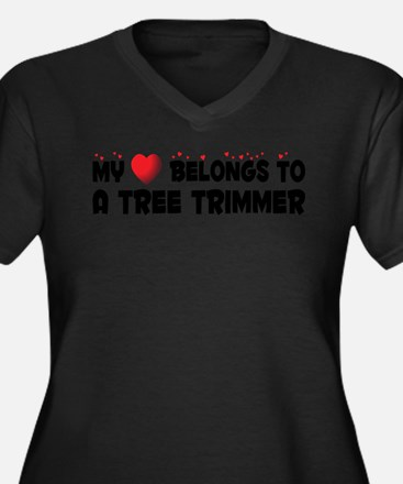 Belongs To A Tree Trimmer Plus Size T-Shirt