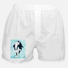 Kissing Orca Boxer Shorts