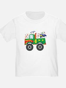 4th Birthday Monster Truck T