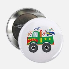 "4th Birthday Monster Truck 2.25"" Button"
