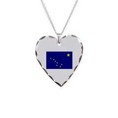 Alaska State Flag Necklace