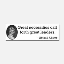 Abigail Adams Car Magnet 10 x 3