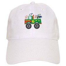 6th Birthday Monster Truck Baseball Cap
