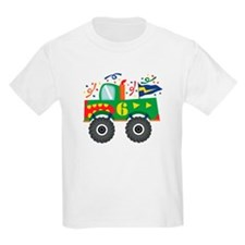 6th Birthday Monster Truck T-Shirt