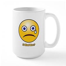 U Mad Bro Smiley Mug