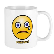U Mad Bro Smiley Mug