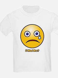 U Mad Bro Smiley T-Shirt