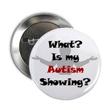 "What? Austim 2.25"" Button (10 pack)"