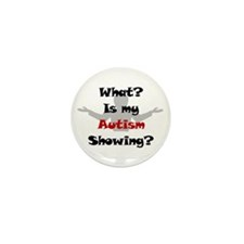 What? Austim Mini Button (10 pack)