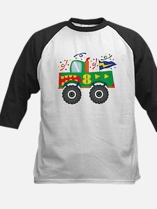 8th Birthday Monster Truck Tee