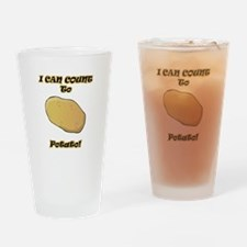 I Can Count to Potato Drinking Glass