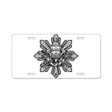 FILIPINO CROWN N KEYS Aluminum License Plate