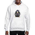 Mobster penguin Hooded Sweatshirt