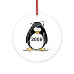 2006 Graduate penguin Ornament (Round)
