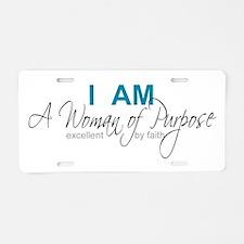 Cute Pageant Aluminum License Plate